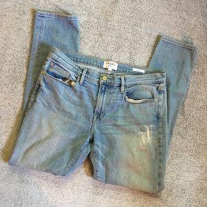 Frame Denim Le Garçon in Kurts Jeans